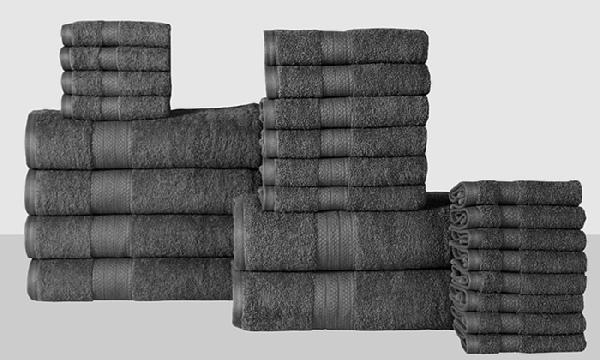 black and white pictures for bathroom economic collection 100 cotton low twist towel set 24 25135